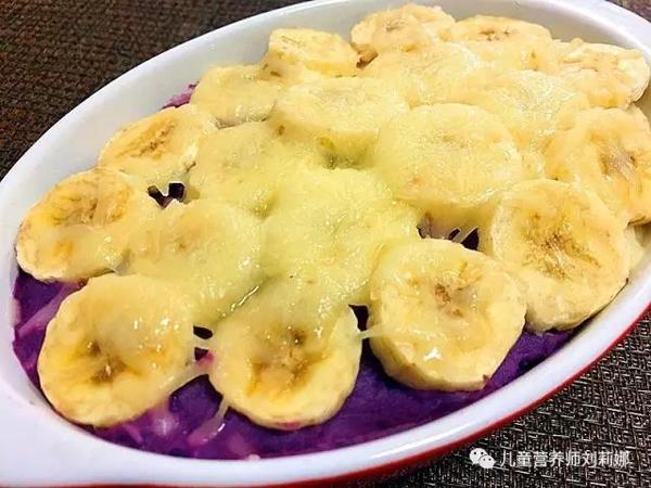 春季促发育--芝士香蕉焗双薯